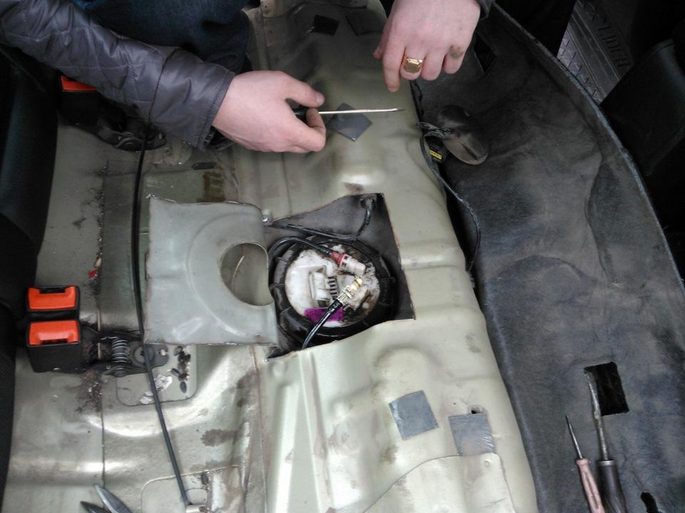 Шевроле круз 1.8 замена топливного фильтра своими руками